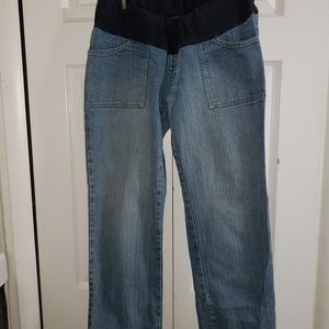 Gap Maternity Wide Leg Jeans